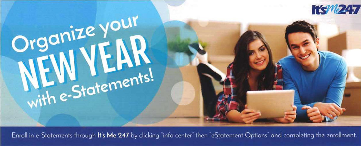 Organize your New Year with estatements